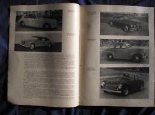 CABRIOLET CISITALIA VIGNALE FIAT 500 LOMBARDI 1100 ZAGATO ALFA TOURING 1950