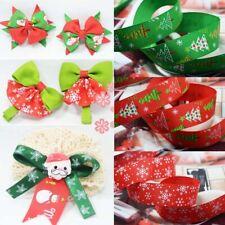 16pcs 1 Yard Satin Satin Ribbons for Christmas Gift Wrapping DIY 9mm