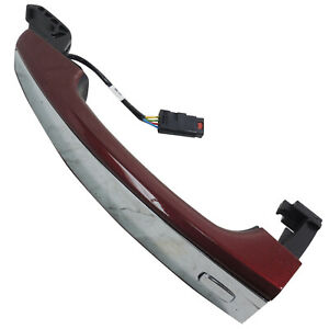 Door Handle Front LH or RH Siren Red Tintcoat 405Y w/Chrome New OEM GM 13577716