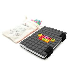 New WAFF Combo Large 50 Cubes Tiles Personalized Art Silicone Journal Notebook