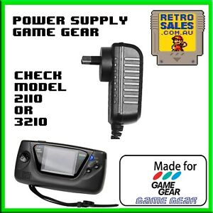 Sega Game Gear Power Supply Adapter Pack GameGear Model HGG-3210 2110 2110-50