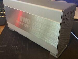 OWC Mercury Pro Elite Dual Raid Enclosure