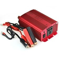 BESTEK 600W Car Power Inverter DC 12V to 230V AC Converter with Electrical Ou...