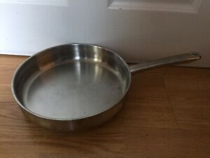 Stellar Stainless Steel Frying Pan 27cm Suitable For All Hob Types