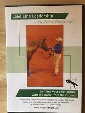 Horse & Rider training/ Lead Line Leadership with Julie Goodnight DVD