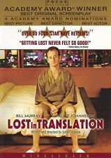 New! Lost in Translation (Dvd, 2004, Widescreen) Bill Murray - Sealed!