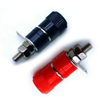 6pcs red+black Binding Post Female Socket Jack for 4MM Banana Plug Connectors