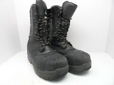 "Dakota Men's 10"" Composite Toe Composite Plate Oil Transitional Boots Black 12 W"