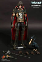 """Statua Figure SPACE PIRATE CAPTAIN HARLOCK MMS222 Hot Toys 30 cm 1/6th 12"""""""