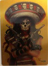 La Muerta: Descent Metal Card Set
