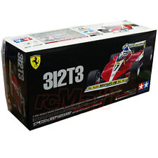 Tamiya 1:10 F104W Ferrari 312T3 EP RC Cars Kit w/Motor On Road #47374