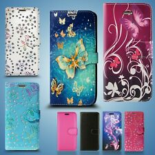 FOR APPLE IPHONE 4S & IPOD PU LEATHER WALLET PHONE BOOK CARD CASH TWO SLOT COVER
