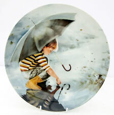 Vintage Pemberton Oakes Collector Plate Touching the Sky Wonder of Childhood