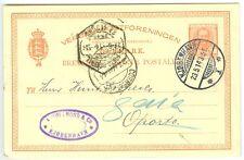 Denmark: Copenhagen postcard to Portugal 1914, arr canc.