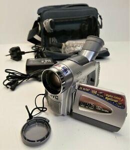 JVC GR-D50EK Mini DV Cassette Camcorder - Tested Working - Movie Recorder