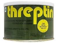 Threptin Diskettes  Flavor Protein Supplement 275 gm Each F/ship