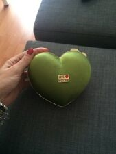 Borsa Love Moschino Bag Cuore Verde Raso Gold
