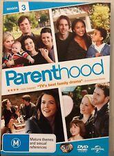 Parenthood : Season 3 (DVD, 2012, 5-Disc Set) Region 4