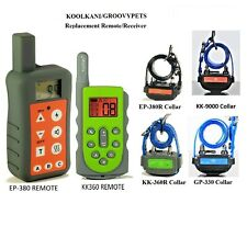 Spare Remote, Receiver  for Easypet Koolkani Remote Dog Training Collar Fence