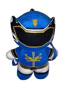 Power Rangers Large Blue Ranger Plush Backpack 2013 Mega Force ECU