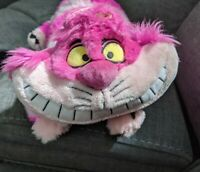 "Disney Store Exclusive Alice In Wonderland Cheshire Cat plush stuffed animal 20"""