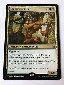 1x MTG - Faeburrow Elder - Throne Of Eldraine - NM