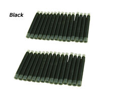 30 PCS Jinhao Fountain Pen Ink Cartridge , International Size , Black Color