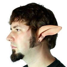 Faun/Satyr Ears Costume - Latex Painted Medium Elf Ears