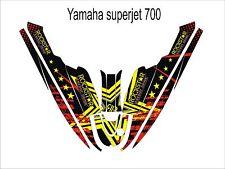 YAMAHA SUPER JET 700 jet ski wrap graphics pwc stand up jetski decal kit 03