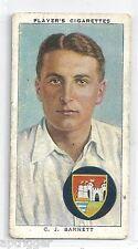 1938 John Player & Sons (2) C. J. BARNETT Gloucestershire & England