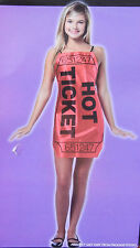 RED HOT TICKET CUTE COSTUME SIZE XS NWT