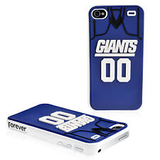 New York Giants IPHONE 4/4S Jersey Hard Case/Cover with Silicone 3D Back