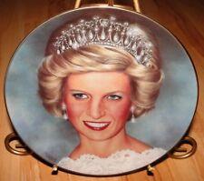 The Princess Diana Wedding Portrait Danbury Mint Plate