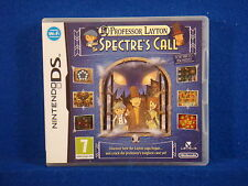 DS PROFESSOR LAYTON And The Spectre's Call/Last Specter Nintendo DSi 3DS PAL
