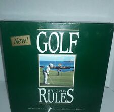 Golf By The  Rules Board Game, 1990, JD Golf Rules