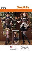 Simplicity 8075 Arkivestry Steampunk Costume Pattern 6-14 Mini Dress Back Stay