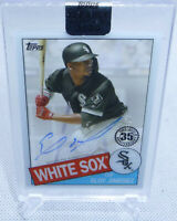 2020 Topps Clearly Authentic '85 Topps Eloy Jimenez Autograph Card #TBA-EJ SOX