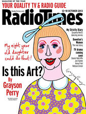 Radio Times,Grayson Perry,Downton Abbey,Clemence Poesy,Piers Morgan,Backshall