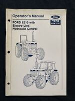 Ford New Holland Operator's Manual 8210 Tractor *1821
