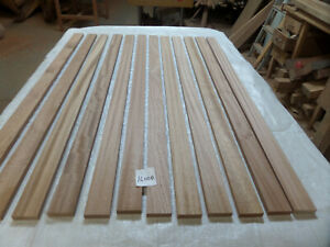 Sapele hardwood timber 12 @ 1.22m x 15mm x 15mm (16000R7) bench slats trim
