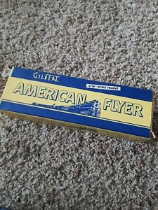 1947 Gilbert American Flyer 937 MKT Boxcar Car BOX ONLY