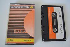 DDR Kleincomputer KC85 Spiele 3