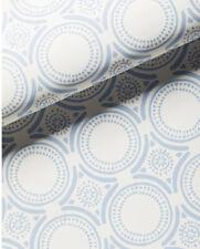 NEW $98 Serena & Lily Pesaro Wallpaper Coastal Blue On Light Sand