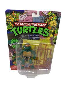 MICHELANGELO TMNT Classic Figure Teenage Mutant Ninja Turtles Retro Toy New NIB