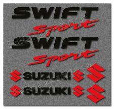 Suzuki SWIFT 12 tlg. Aufkleber Set  Suzuki Decal, Sticker, Bi-Color -30 Farben-