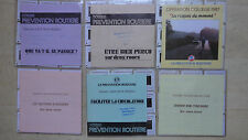 LOT DE 55 DIAPOSITIVES PREVENTION ROUTIERE MOTO MOBYLETTE OPERATION COLLEGE