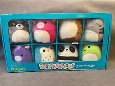Squishmallows Minis 8 Pack Plush Set Kellytoy Open Box