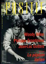 Cinéma revue POSITIF 456/1999 Woody Allen Grandrieux Godard Le péplum italien