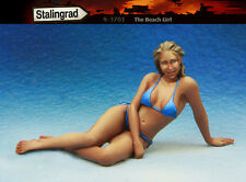 1/35 scale resin model kit de la plage fille #1