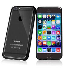 Fundas y carcasas bumper de color principal transparente para teléfonos móviles y PDAs
